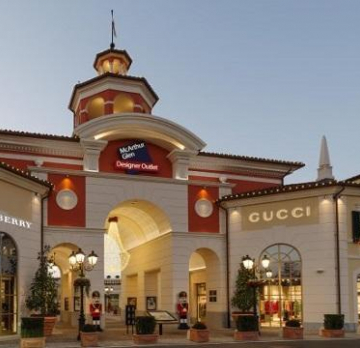 Serravalle Outlet or FoxTown Outlet Shopping trip - 8 hours